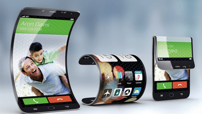 foldable samsung galaxy s8 smartphone